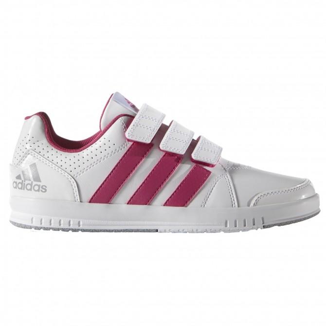Sneakers Adidas Lk Trainer 7 Girl blanc-rose (28-38)