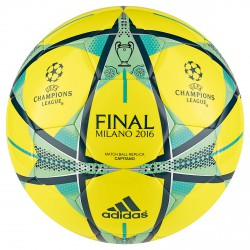 Pallone Adidas Fin Milano giallo-nero-verde