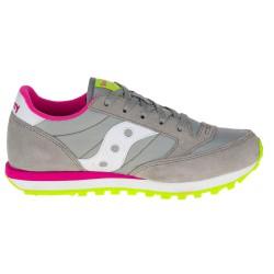 Sneakers Saucony Jazz O' Girl grigio-fucsia (27-35)