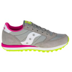 Sneakers Saucony Jazz O' Girl gris-fucsia (27-35)