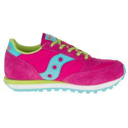 Sneakers Saucony Jazz O' Girl rosa-azul-lime (35.5-38)