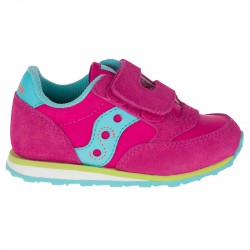 Sneakers Saucony Jazz HL Baby rosa-azul-lime