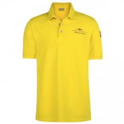 Polo Napapijri Elbas Hombre amarillo