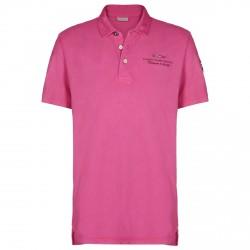 Polo Napapijri Elbas Hombre rosa
