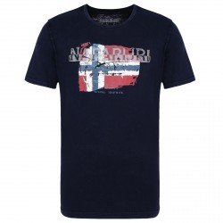 T-shirt Napapijri Slood Man blue