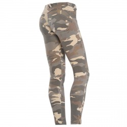 Pantalon Freddy Wr.Up Shaping 7/8 Femme camouflage