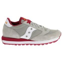 Sneakers Saucony Jazz Original Mujer gris-rojo
