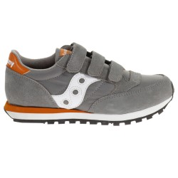 Sneakers Saucony Jazz O' Junior gris-naranja