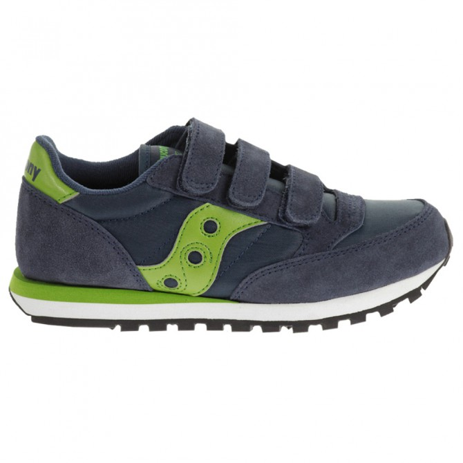 Scarpe Saucony Jazz Triple HL navy-verde Junior
