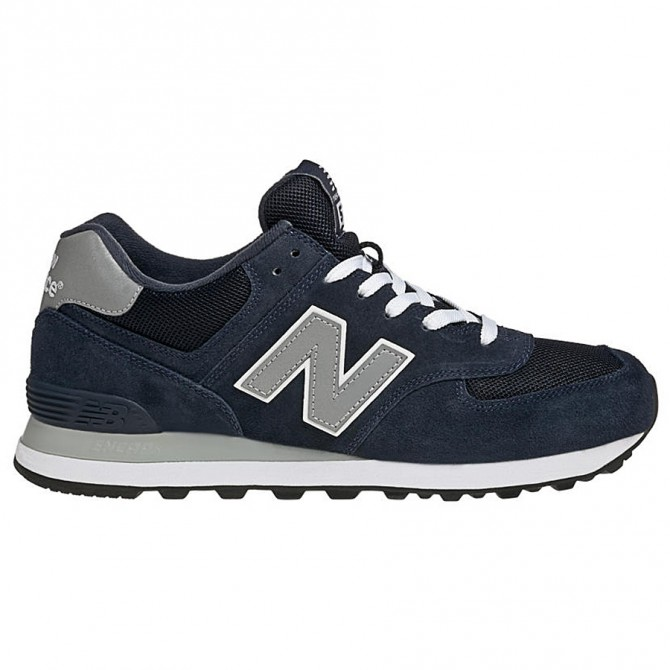 new balance 574 uomo blu navy