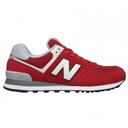 Sneakers New Balance 574 Hombre rojo