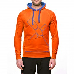 Sweat-shirt Rock Experience Gonfio Homme orange
