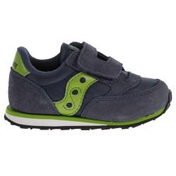 Sneakers Saucony Jazz HL Baby navy-vert