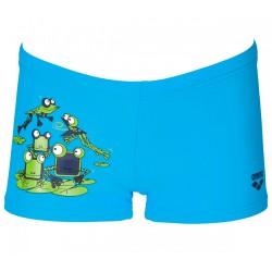 Costume-short Arena Carinho blu-verde