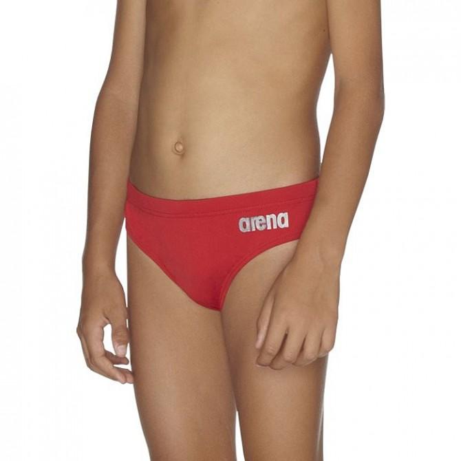 Traje de baño Arena Saredos Junior rojo
