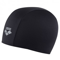 Swim cap Arena Polyester Junior black