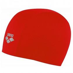 Cuffia piscina Arena Polyester Junior rosso
