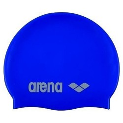 Bonnet de bain Arena Classic Silicone Junior royal