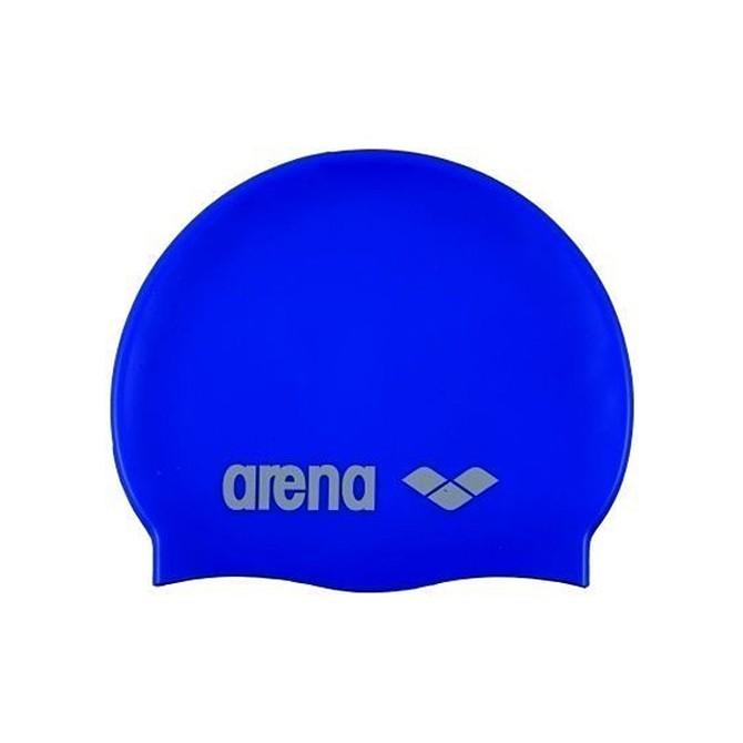 Gorro de natación Arena Classic Silicone Junior royal