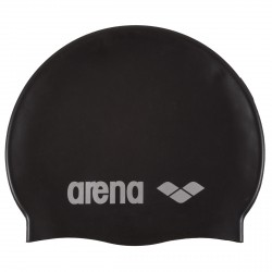 Cuffia piscina Arena Classic Silicone Junior nero