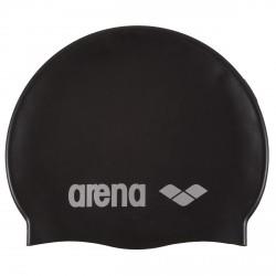 Gorro de natación Arena Classic Silicone Junior negro
