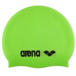 Gorro de natación Arena Classic Silicone Junior verde