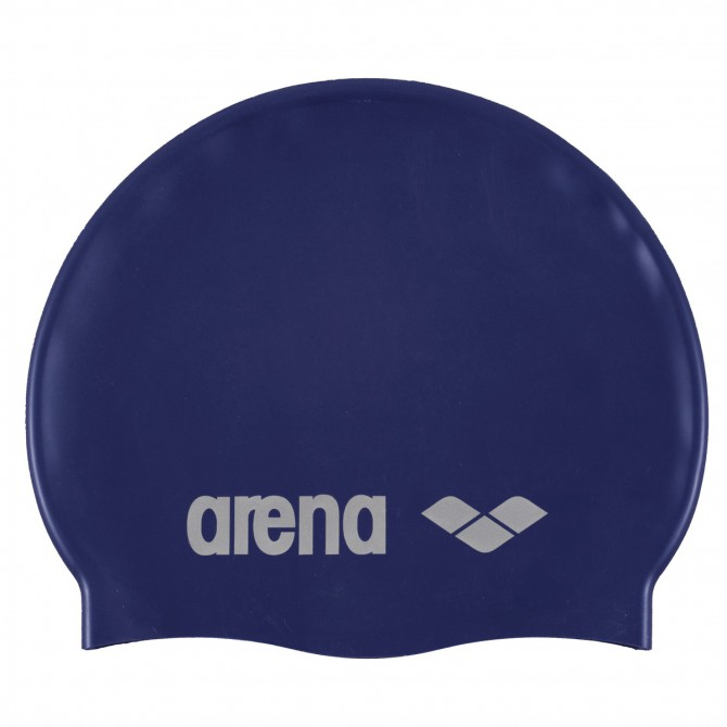 Swim cap Arena Classic Silicone Junior blue