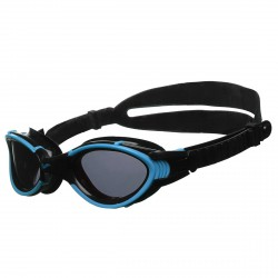 Swimming goggles cap Arena Nimesis X-Fit blue-black
