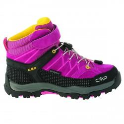 Chaussure trekking Cmp Rigel Mid Girl fuchsia