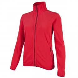 Fleece Cmp Woman red
