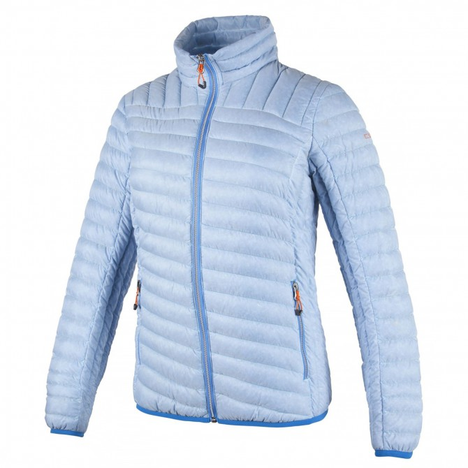 Down jacket Cmp Woman light blue