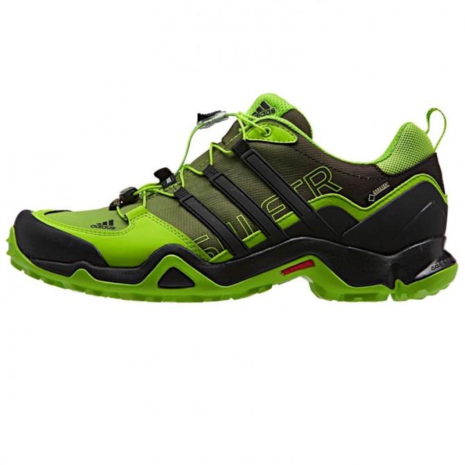 Chaussures trekking Adidas Terrex Swift R Gtx Homme lime