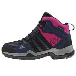 Chaussures trekking Adidas Ax2 Mid Girl bleu