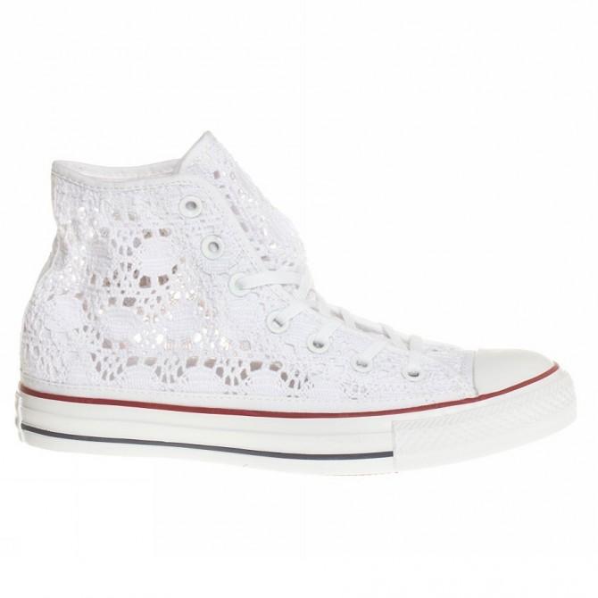 Sneakers Converse All Star Hi Crochet Femme