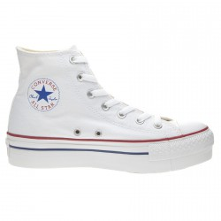 Sneakers Converse All Star Hi Platform Mujer blanco
