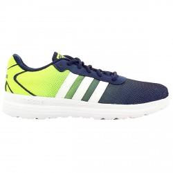 Chaussures sport Adidas Cloudfoam Speed Garçon navy-lime