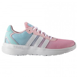 Chaussures sport Adidas Cloudfoam Speed Fille rose-bleu