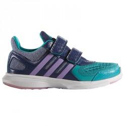 Scarpe ginnastica Adidas Hyperfast 2.0 blu-verde acqua