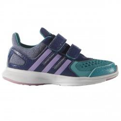 Scarpe ginnastica Adidas Hyperfast 2.0 Ragazzo blu-verde acqua