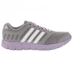Chaussures running Adidas Breeze 101 Femme gris