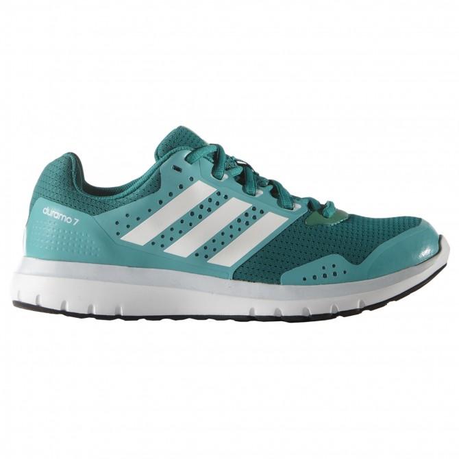 Chaussures running Adidas Duramo 7 Femme vert
