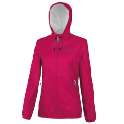 Windproof jacket Astrolabio N28Y Woman fuchsia