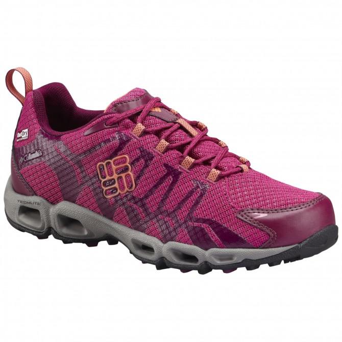 Zapatos trail running Columbia Ventrailia Mujer rosa