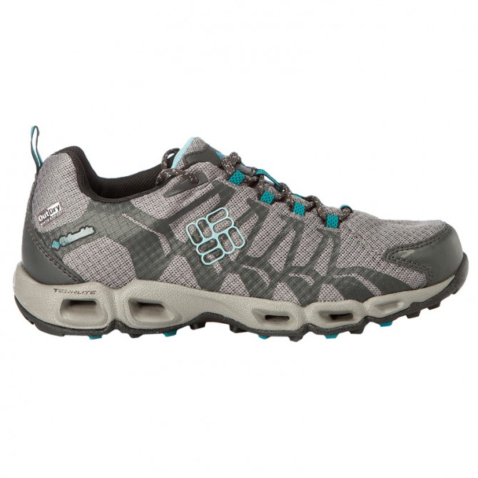 Zapatos trail running Columbia Ventrailia Mujer gris