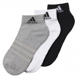 Calcetines Adidas 3-Stripes Performance negro-gris-blanco
