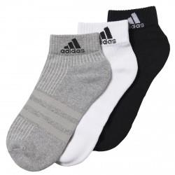 Calze Adidas 3-Stripes Performance nero-grigio-bianco