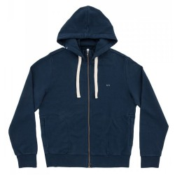 Sweat-shirt Sun68 String Cott. Fl. Garçon navy (4-6 ans)