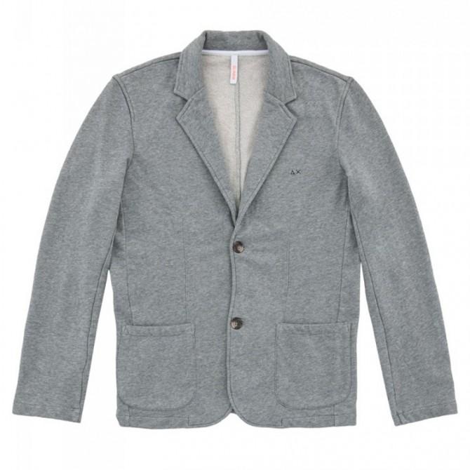 Jacket Sun68 Solid Man grey