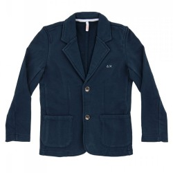 Jacket Sun68 Solid Junior navy (8-10 years)