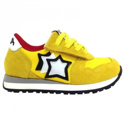 Sneakers Atlantic Stars Aquarius Niño amarillo